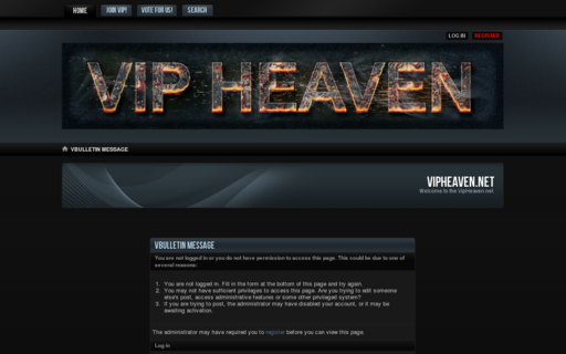 Access vipheaven.net using Hola Unblocker web proxy