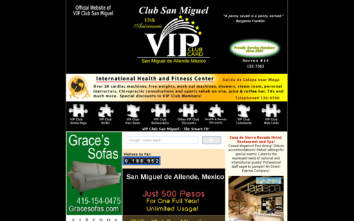 Access vipsanmiguel.com using Hola Unblocker web proxy