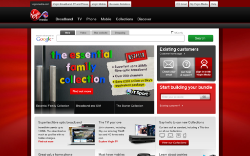 Access virginmedia.com using Hola Unblocker web proxy