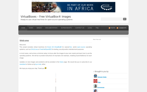Access virtualboxes.org using Hola Unblocker web proxy