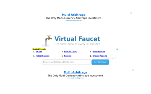 Access virtualfaucet.com using Hola Unblocker web proxy