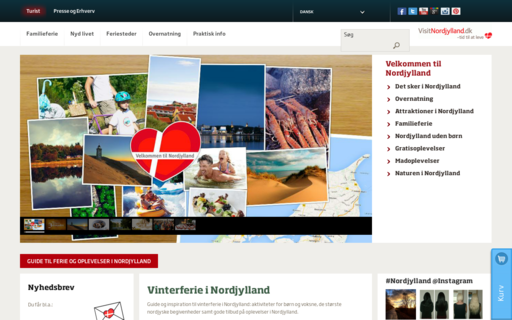 Access visitnordjylland.dk using Hola Unblocker web proxy