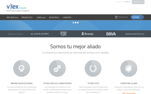 Access vlex.es using Hola Unblocker web proxy