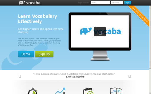 Access vocaba.com using Hola Unblocker web proxy