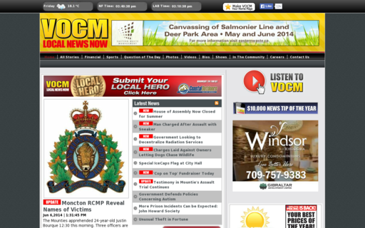Access vocm.com using Hola Unblocker web proxy