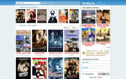 Access vodly.to using Hola Unblocker web proxy