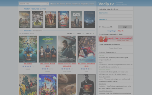 Access vodly.tv using Hola Unblocker web proxy