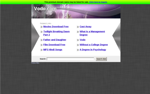 Access vodo.com using Hola Unblocker web proxy