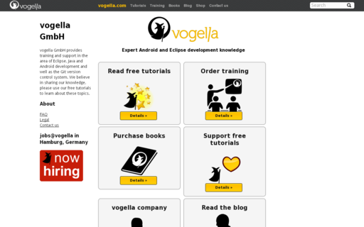 Access vogella.com using Hola Unblocker web proxy