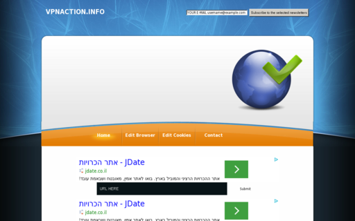 Access vpnaction.info using Hola Unblocker web proxy