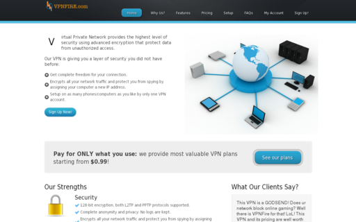 Access vpnfire.com using Hola Unblocker web proxy
