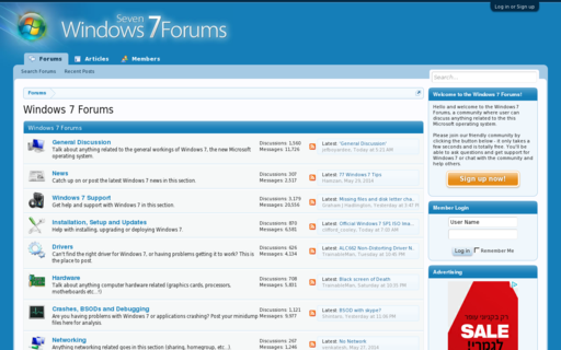Access w7forums.com using Hola Unblocker web proxy