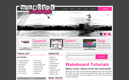 Access wakeboardtutorials.com using Hola Unblocker web proxy