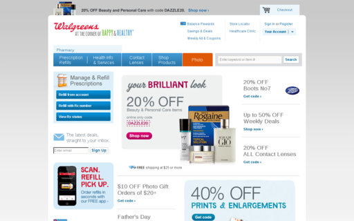 Access walgreens.com using Hola Unblocker web proxy