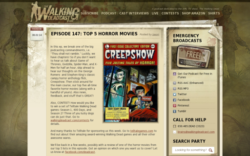 Access walkingdeadcast.com using Hola Unblocker web proxy