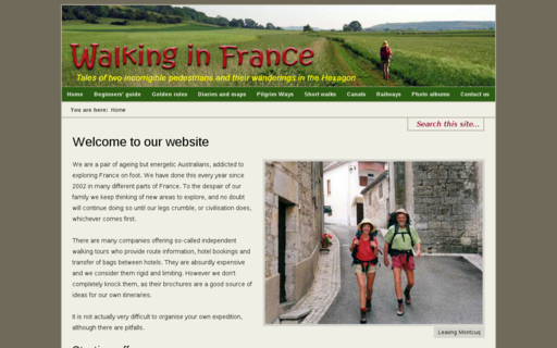 Access walkinginfrance.info using Hola Unblocker web proxy