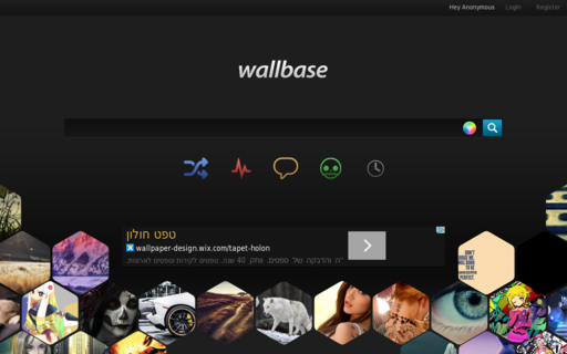 Access wallbase.cc using Hola Unblocker web proxy