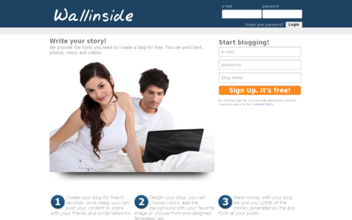 Access wallinside.com using Hola Unblocker web proxy
