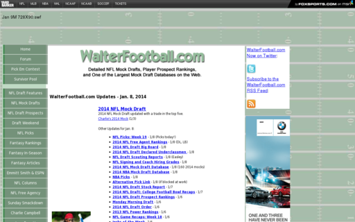 Access walterfootball.com using Hola Unblocker web proxy