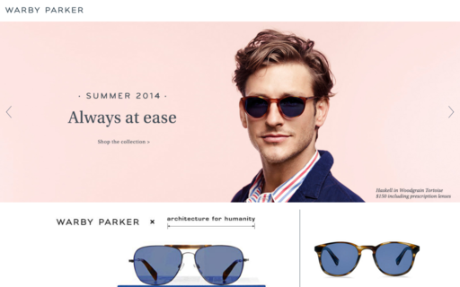 Access warbyparker.com using Hola Unblocker web proxy