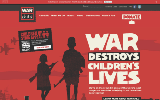 Access warchild.org.uk using Hola Unblocker web proxy