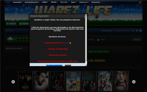 Access warez-life.org using Hola Unblocker web proxy