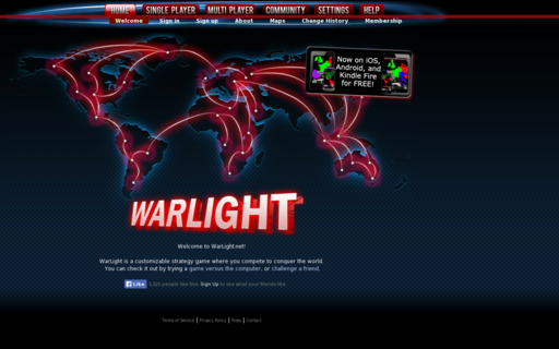 Access warlight.net using Hola Unblocker web proxy