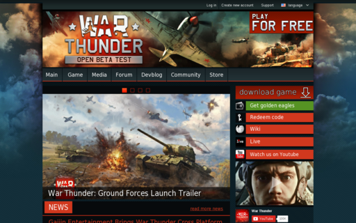 Access warthunder.com using Hola Unblocker web proxy