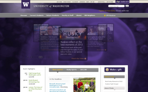 Access washington.edu using Hola Unblocker web proxy