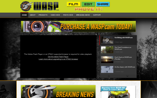 Access waspcam.com using Hola Unblocker web proxy