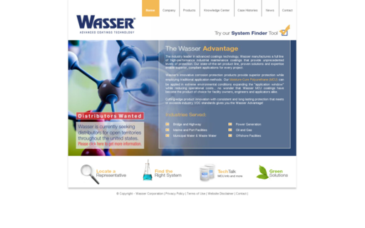 Access wassercoatings.com using Hola Unblocker web proxy
