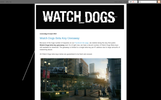 Access watchdogsbeta.com using Hola Unblocker web proxy