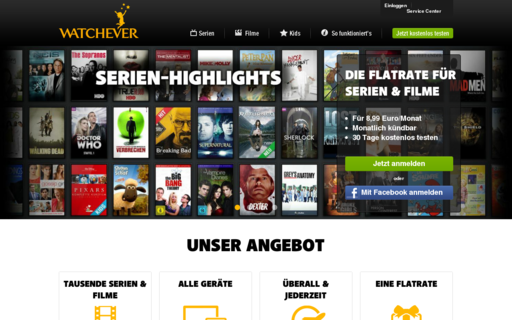 Access watchever.de using Hola Unblocker web proxy
