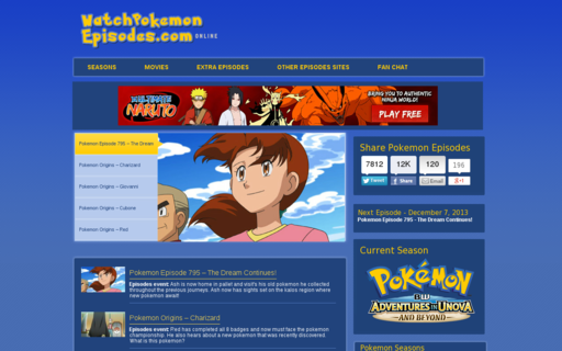 Access watchpokemonepisodes.com using Hola Unblocker web proxy