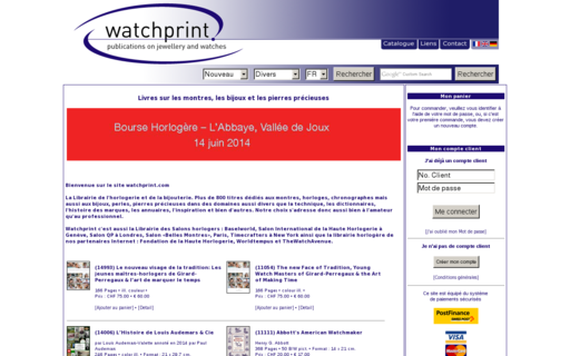 Access watchprint.com using Hola Unblocker web proxy