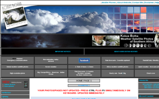 Access weatherphotos.co.za using Hola Unblocker web proxy