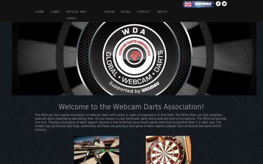 Access webcamdarts.com using Hola Unblocker web proxy
