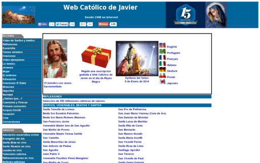 Access webcatolicodejavier.org using Hola Unblocker web proxy