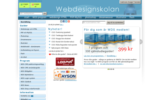 Access webdesignskolan.se using Hola Unblocker web proxy