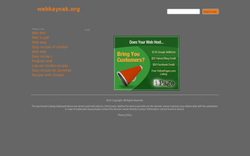 Access webkaynak.org using Hola Unblocker web proxy