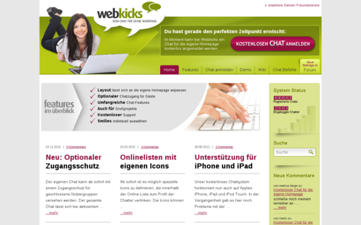 Access webkicks.de using Hola Unblocker web proxy