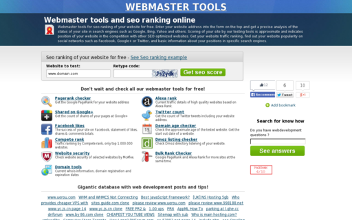 Access webmastertools.fm using Hola Unblocker web proxy