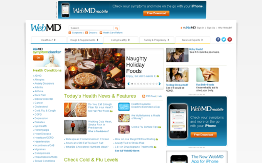 Access webmd.com using Hola Unblocker web proxy