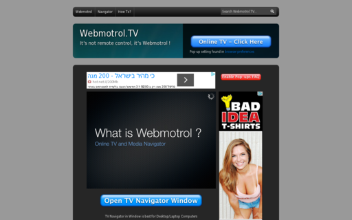 Access webmotrol.com using Hola Unblocker web proxy