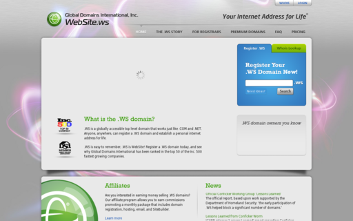 Access website.ws using Hola Unblocker web proxy