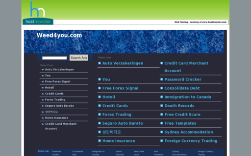 Access weed4you.com using Hola Unblocker web proxy