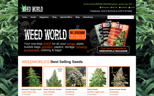 Access weedworld.co.uk using Hola Unblocker web proxy