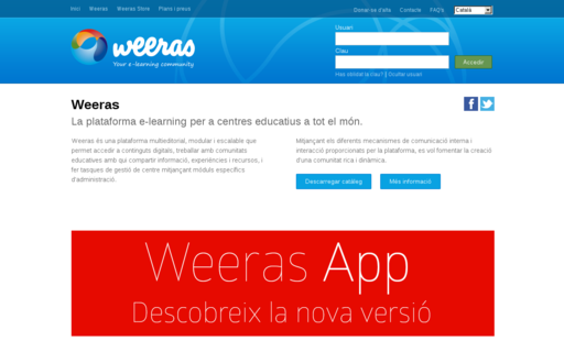 Access weeras.com using Hola Unblocker web proxy