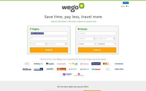 Access wego.com using Hola Unblocker web proxy