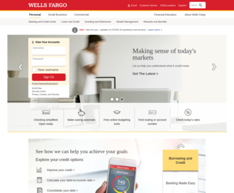 Access wellsfargo.com using Hola Unblocker web proxy